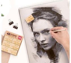 Deli Hohe Qualität Große Größe 4B Kunst Malerei Bleistift Skizze Radiergummi Prüfung Gummi für Student Schreibwaren