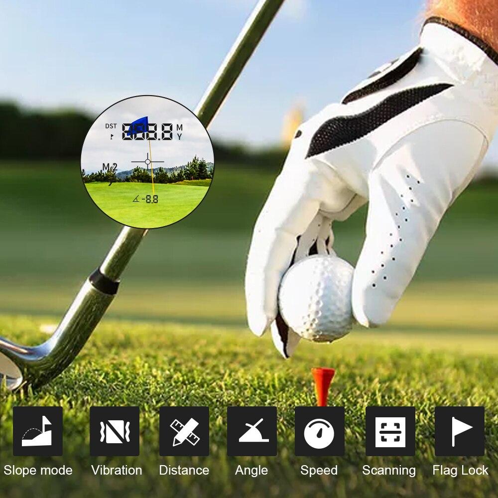 Rangefinder Slope Correction Range Flag Jolt Meter Professional USB Golf Lock Golf Vibrate Recharge