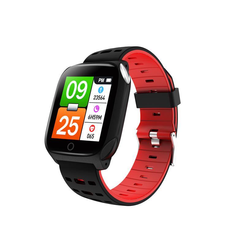 F16 smart bracelet ECG sports bracelet heart rate blood pressure blood oxygen sleep monitoring fitness tracker waterproof band