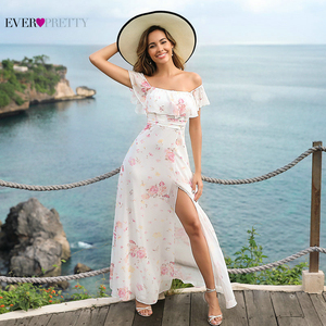 Sexy Lace Evening Dresses Ever Pretty A-Line O-Neck Half Sleeve Tulle See-Through Elegant Long Party Gowns Robe De Soiree 2020(China)