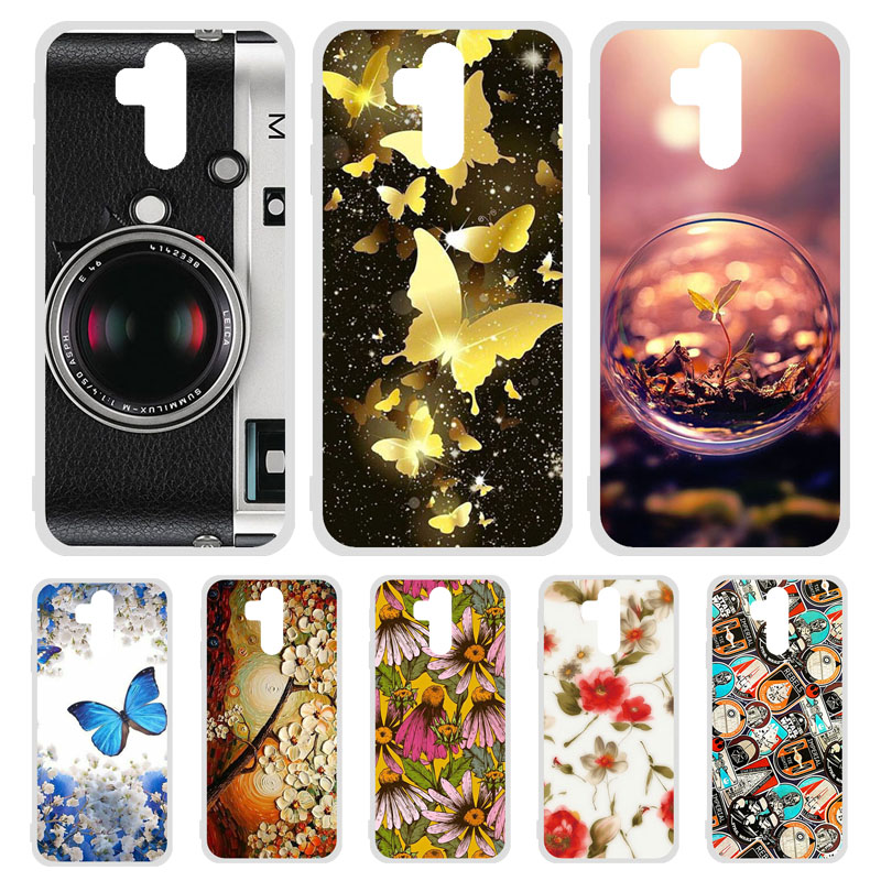 Phone Cases For <font><b>Oukitel</b></font> K9 <font><b>K12</b></font> Case Silicone Painted Bumper For <font><b>Oukitel</b></font> C16 C17 Pro Cover TPU Soft Capa Etui image