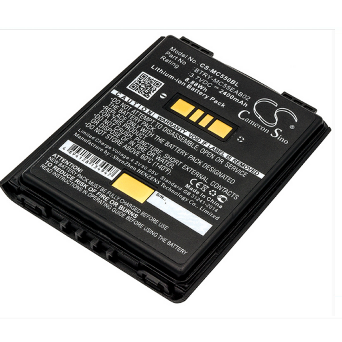 8.88Wh MC5574 MC5590 Scanner baterias PN: 82-111094-01 BTRY-MC55EAB02 U60493