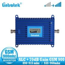 Lintratek wzmacniacz sygnału komórkowego GSM 2G 900 mhz 70dB wzmacniacz sygnału telefonu wzmacniacz GSM 900 MHZ