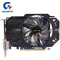 GIGABYTE NVIDIA Graphics Card GTX 750 Ti 2GB GDDR5 128 Bit With GeForce Gtx 750 Ti GPU Video Card For PC Hdmi Dvi Used VGA Cards