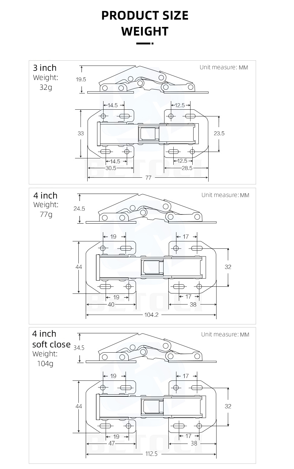 Hba9ebc6429e64ab294af37cac5ca15ab0 - MX 90Degree3-4Inch Not Drilling Hole Cabinet Hinge Cabinet door soft closing hinge Hydraulic buffer hinge Furniture hardware