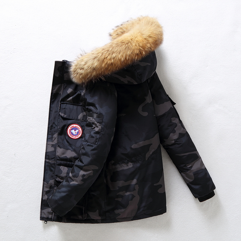 90%Down Jackets Men Winter Jacket Men Fashion Thick Warm Parkas Fur White Duck Down Coats Casual Man Waterproof Down Jackets 165 4
