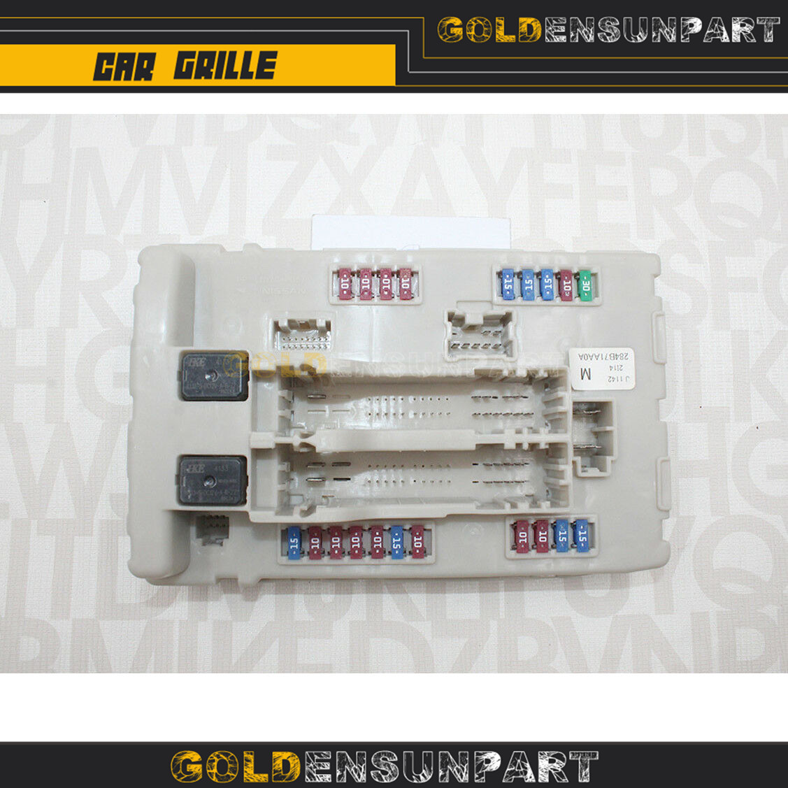 284B7-1AA0A 284B71AA0A New Engine Control Unit Fuse Box for Nissan Altima Murano Maxima IPDM BCM 2008 2009 2010 image