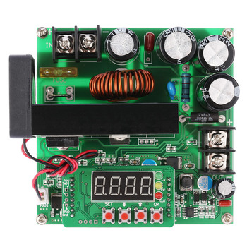 New 900W DC-DC Boost Module Digital Control 0-15A IN 8-60V OUT 10-120V Step-up Converter Power Supply CC/CV LED Display