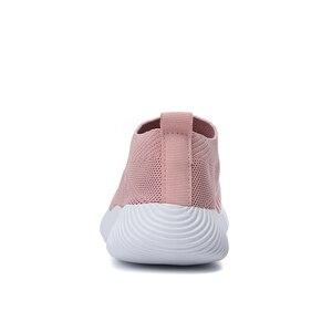 Image 5 - Sıcak satış koşu ayakkabıları kadın bahar bayanlar ayakkabı örgü spor ayakkabılar hafif spor ayakkabı yaz yeni kapalı daireler ayakkabı büyük boy