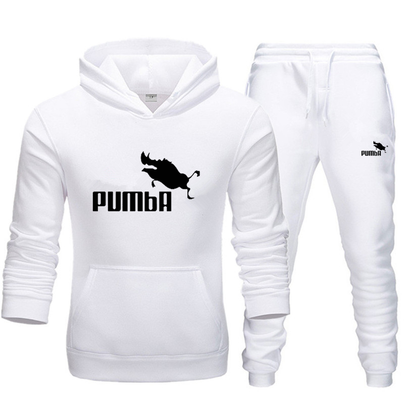 2019 newMen Brand New Sets Fashion Autumn Spring Sporting Suit Sweatshirt +Sweatpants Mens Clothing 2 Pieces Sets Slim Tracksuit