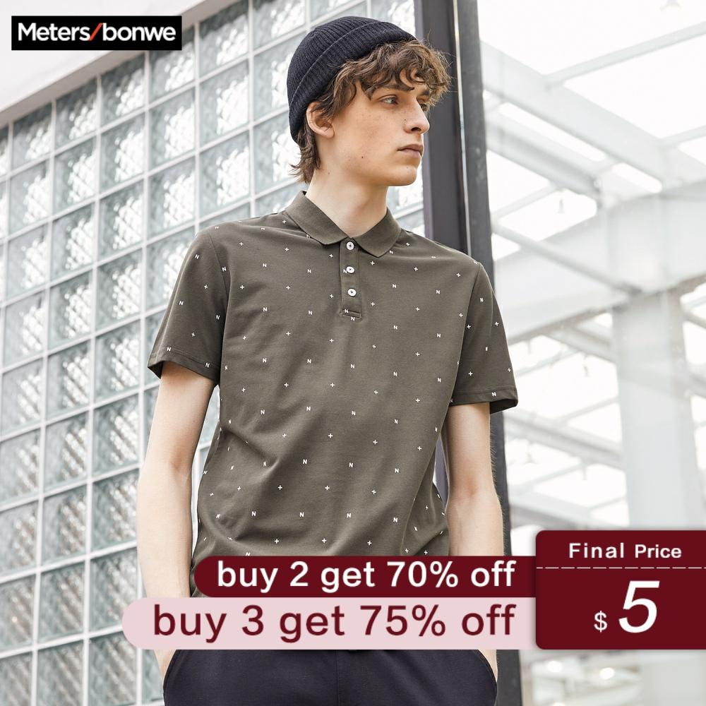 Metersbonwe Brand New Men's Polo Shirt High Quality Men Cotton Short Sleeve Shirt Brands Jerseys Summer Mens Polo Shirts