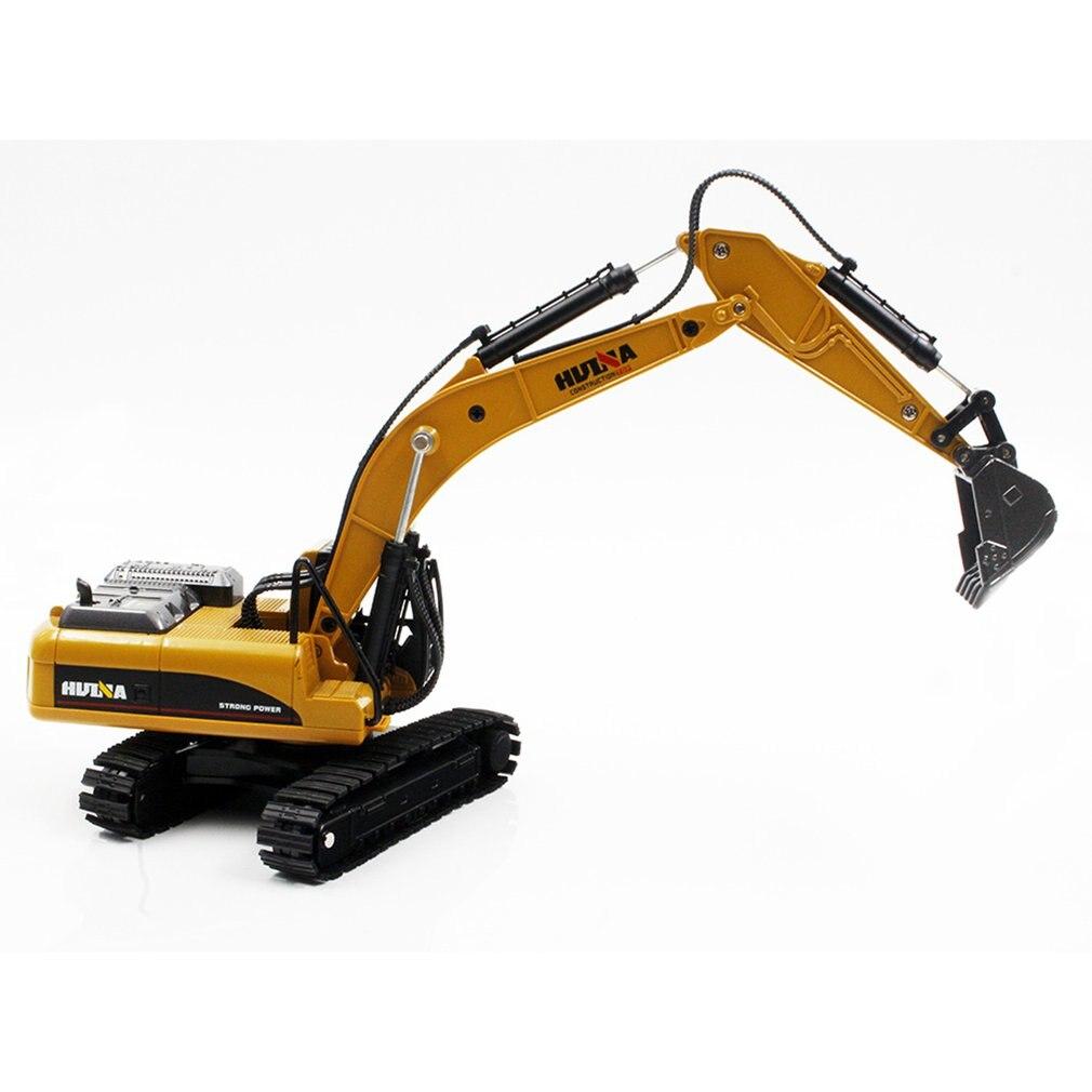 HUINA игрушки № 1710 1/50 сплава литья под давлением экскаватор грузовик литого металла профессиональных инженеров с строительная техника модел...