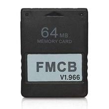 RGEEK FreeMcBoot FMCB 1.966 PS2 بطاقة الذاكرة 64MB لعبة التوقف بطاقات لسوني بلاي ستيشن 2 PS2