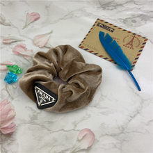 Elegante veludo de áudio-technica padrão anel de cabelo feminino meninas elástico cabelo bandas de borracha corda de cabelo rabo de cavalo titular headdress