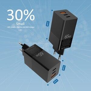 Image 5 - BaySerry 65 واط غان USB C تهمة سريعة 4.0 3.0 الاتحاد الأوروبي التوصيل نوع C PD شاحن نوع C آيفون 12 برو ماكس سامسونج محمول شحن سريع