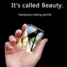 Внешний аккумулятор для xiaomi mi iPhone, USAMS mi ni Pover Bank, 20000 мА/ч светодиодный дисплей, внешний аккумулятор, повербанк, быстрая зарядка