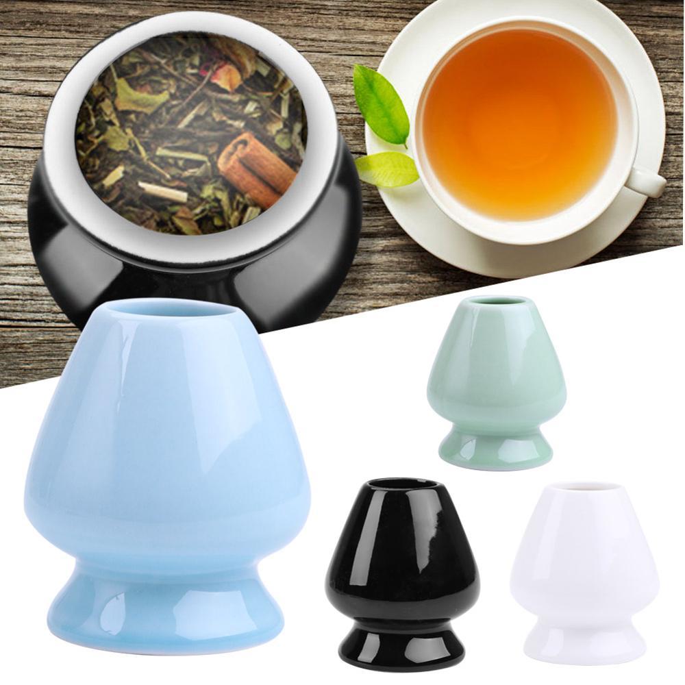 Vestito di Cerimonia giapponese Matcha Frusta Matcha Tè Verde Chasen Del Supporto Del Basamento Ciotole Piatto Vassoio Accessori Tè, Articoli e Attrezzature