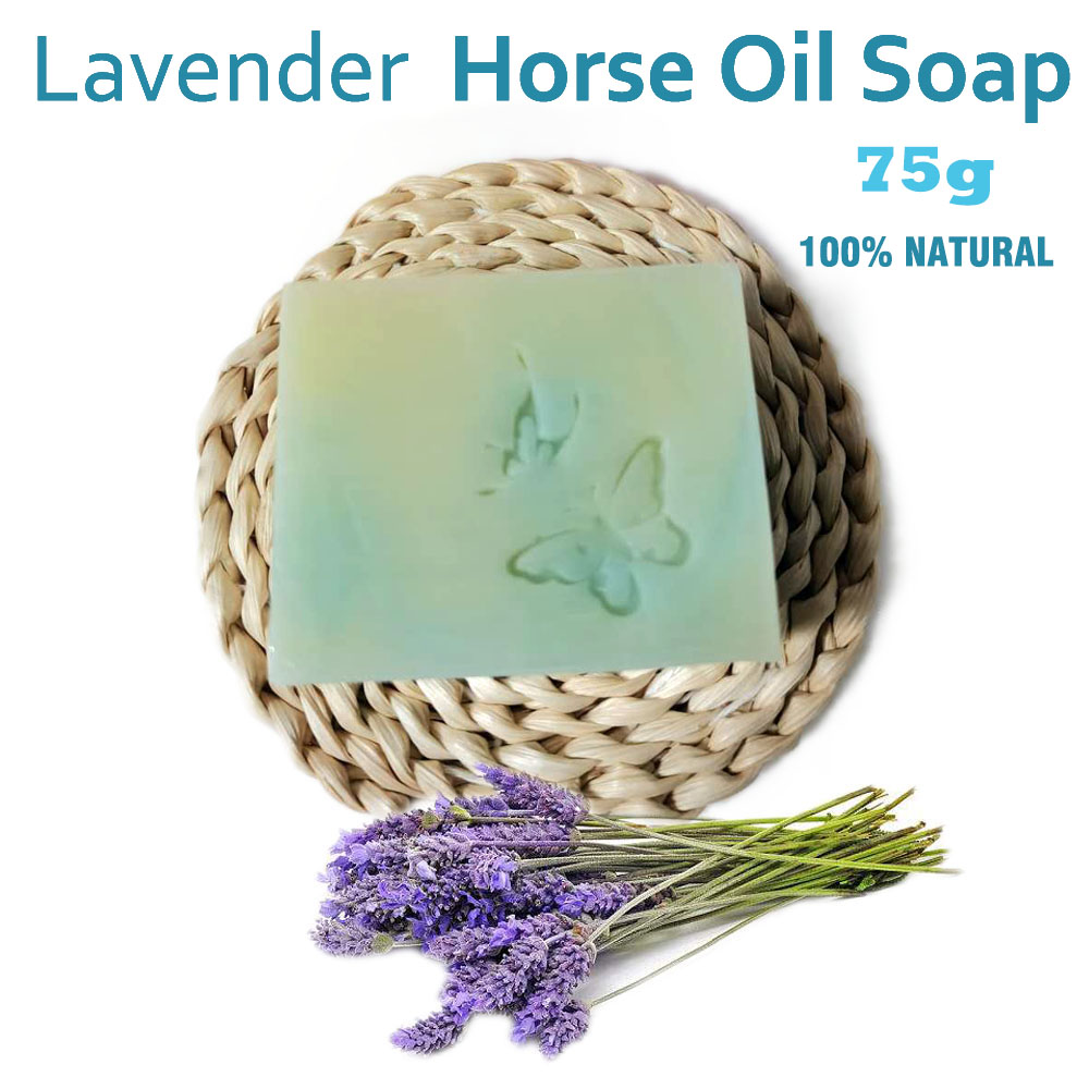 Lavender Horse Oil Cold Soap Cold Process soap Lavender Oil soap facial whitening soap face cleansing soap natural hand made