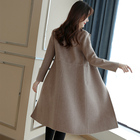 Wool Coat Women slim...