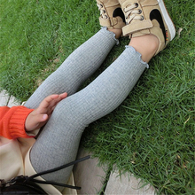 5pcs/lot Toddler Girl Ribbed Leggings Baby Autumn Clothes Solid Color Cotton Warm For Children Bottoms Trousers 7Y