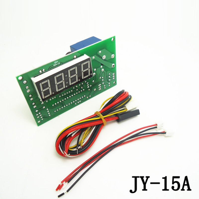 JY-15A Timer Board Timer Controller Power Supply For Coin Opearted Water Pump Washing Machines Massage Chairs Chargers