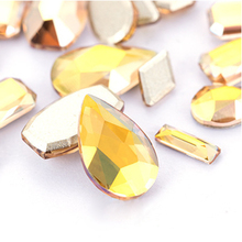 Nail sticker stone nail glitter strass hotfix rhinestones flatback crystal parts Gem decorations
