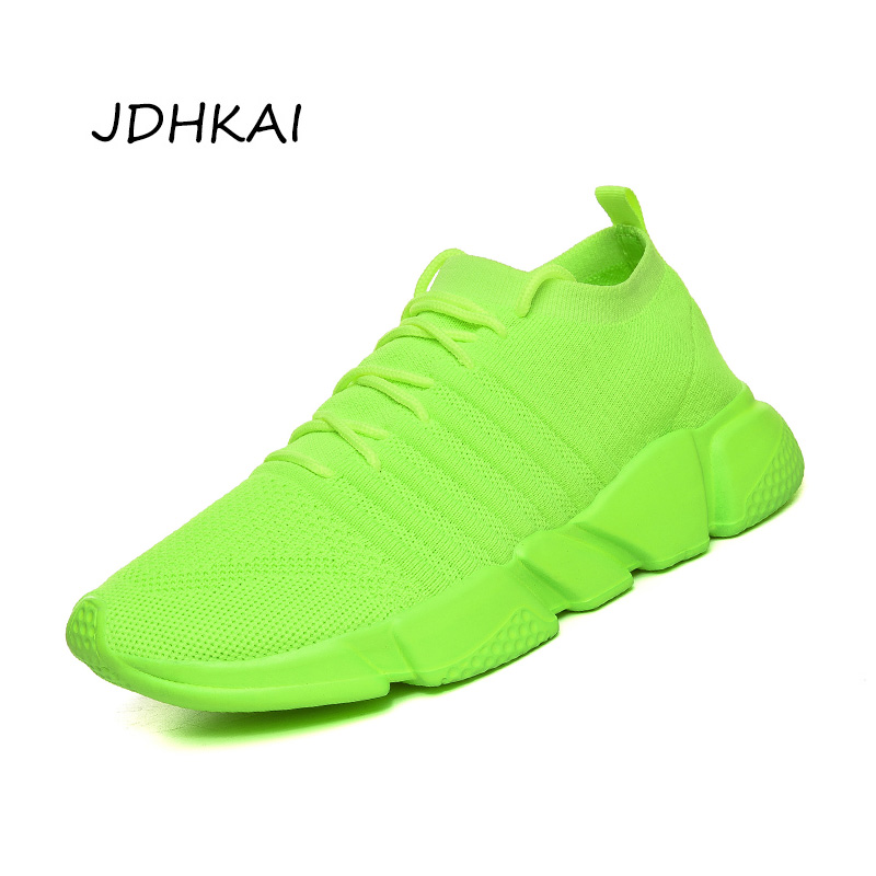 Mens Sneakers Casual Shoes Trainers 2020 New Fashion Basket Running Shoes For Men Soft Green Sports Shoe Men Big Plus Size 47 48