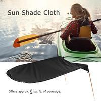Single Person Kayak Boat Sun Shelter Sailboat Awning Top Cover Kayak Boat Canoe Sun Shade Canopy Fishing Tent Sun Rain Canopy Bl