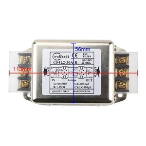 Image 5 - Ghxamp EMI מסנן אספקת חשמל לוח 10A 20A 30A משופר EMI מסוף בלוק מסנן עבור אודיו מגבר נגד התערבות 1PC