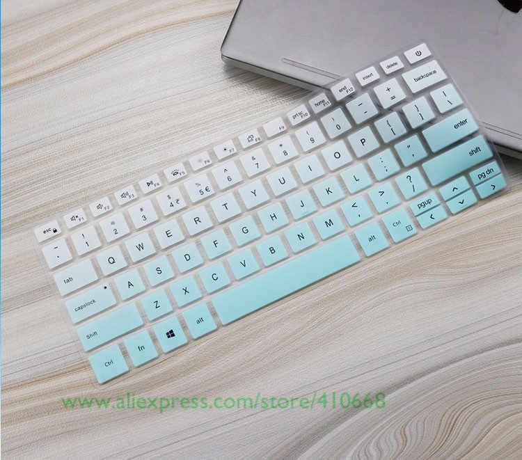 الكمبيوتر المحمول لوحة المفاتيح غطاء حامي لديل خط العرض 3300 3301 لديل انسبايرون 14 5490 7490 7391 5498 5493 5493 5498