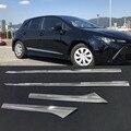 ABS хромированный корпус автомобильной двери  Формовочная рамка  защитная крышка  аксессуары для Toyota Corolla Sport Hatchback  2019