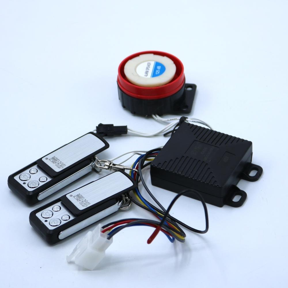 High Quality Electric Bicycle Alarm 48V Double Remote Lock Motor Electric