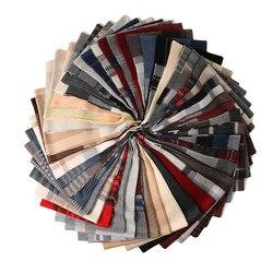 100% kaschmir gestreiften plaid schal schal für männer frauen unisex 30x180cm 30 farbe großhandel einzelhandel
