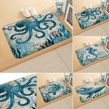 Home Bath Mat Bathroom Carpet Water Absorption Non-slip Memory Foam Absorbent Washable Rug Toilet Floor Mat
