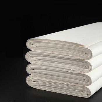 Malowanie papieru ryżowego 100 arkuszy Papel Arroz początkujący obraz z kaligrafią praktyka papier Xuan chiński surowy pół dojrzały papier Xuan tanie i dobre opinie suvtoper CN (pochodzenie)