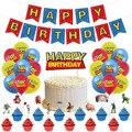 История игрушек мультфильма тема День рождения детский праздничный костюм украшения баннеры торт Топпер шары из латекса для Showe расходные ...