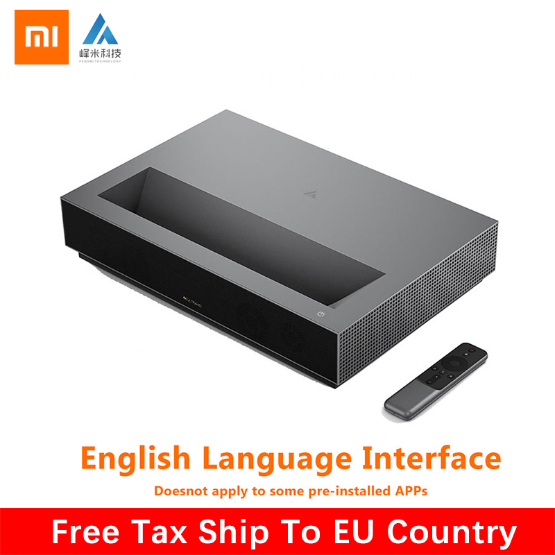 2019 Newest Xiaomi Fengmi Laser TV 4K Cinema Home Theatre 1700 ANSI Lumens 2GB DDR3 RAM 64GB EMMC ROM BLE 4.0 Support HDR10  DTS