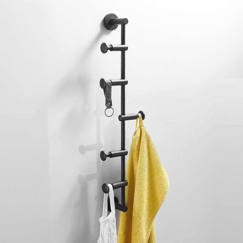 Black Bathroom Coat Rack Brass Clothes Hook Coat Hooks Wall Mount Hook Hanger Bathroom Hooks Bathroom Hardware Robe Hooks Aliexpress
