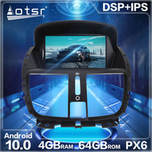 Aotsr Android 10.0 RAM 4 + ROM 64G Car Radio GPS Navigation DSP For Peugeot 206 2000-2016 Car Auto Stereo Multimedia DVD Player(China)