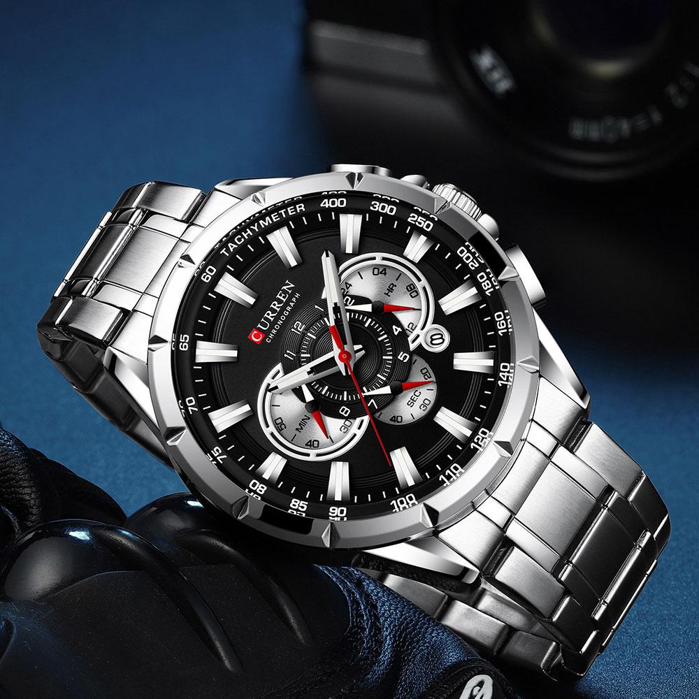 Hbaa3f8121b024976ad41a55ed7750d5dS CURREN New Causal Sport Chronograph Men's Watch