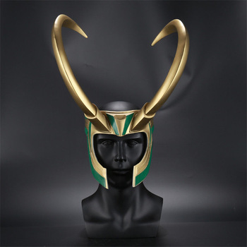 Loki helmet prop Replica - marvel official - marvelofficial.com