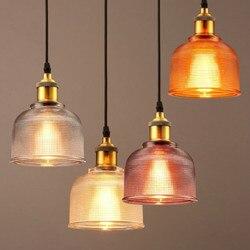 Moderne Loft Kleurrijke Glas Hanglampen Eetkamer Slaapkamer Cafe Creatieve Bar Enkel Glas Opknoping Lamp Decor Verlichtingsarmaturen