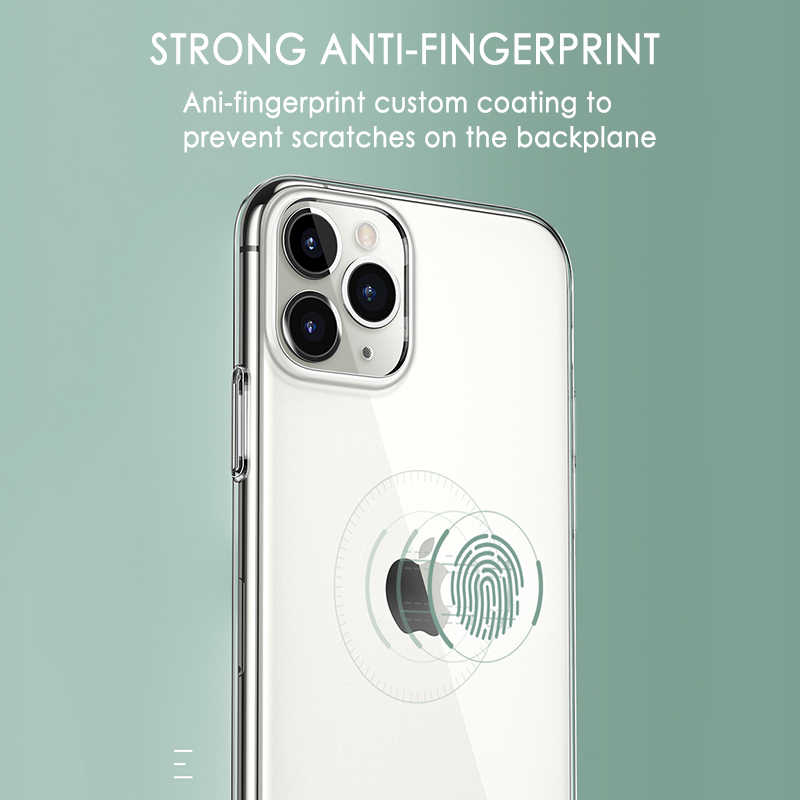 Ultra ince şeffaf telefon kılıfı iPhone 11 7 durumda silikon yumuşak arka kapak iPhone 11 Pro XS Max X 8 7 6s artı 5 SE 11 XR durumda