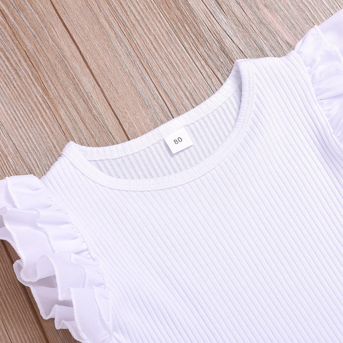 Cotton Printed Strap Dress Suit Girls Clothes L4.17 2