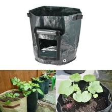عميق الأخضر النبات ينمو حقيبة حديقة الفاكهة النبات ينمو البطاطس أكياس الفراولة كيس البطاطا PE المنسوجة النسيج الخضار حقيبة الغراس