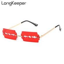Солнцезащитные очки без оправы uv400 для мужчин и женщин уникальные