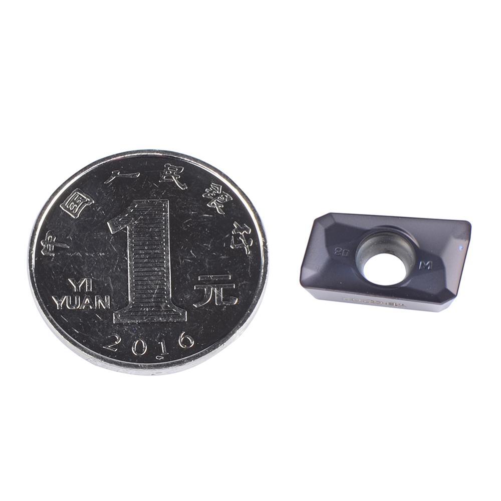 10 pz / lotto APMT160408 ZCC APMT 160408 YBG202 utensili da taglio - Macchine utensili e accessori - Fotografia 2