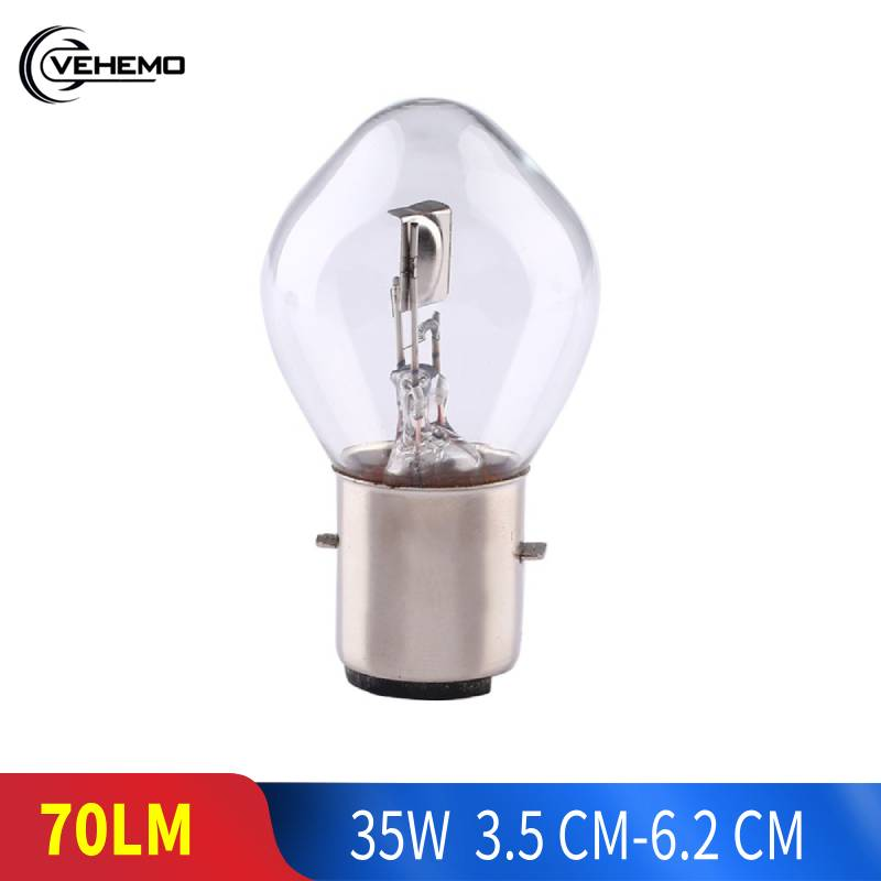 12V 35W ATV Moped Scooter Motorcycle Head Light Lamp Bulb B35 BA20D Accessories