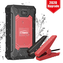 Yaber YR200 mini urządzenie do uruchamiania awaryjnego samochodu 12000mAh szczyt 800A przenośny rozrusznik awaryjny Auto akumulator samochodowy wzmacniacz mocy banku dla 12V samochodu