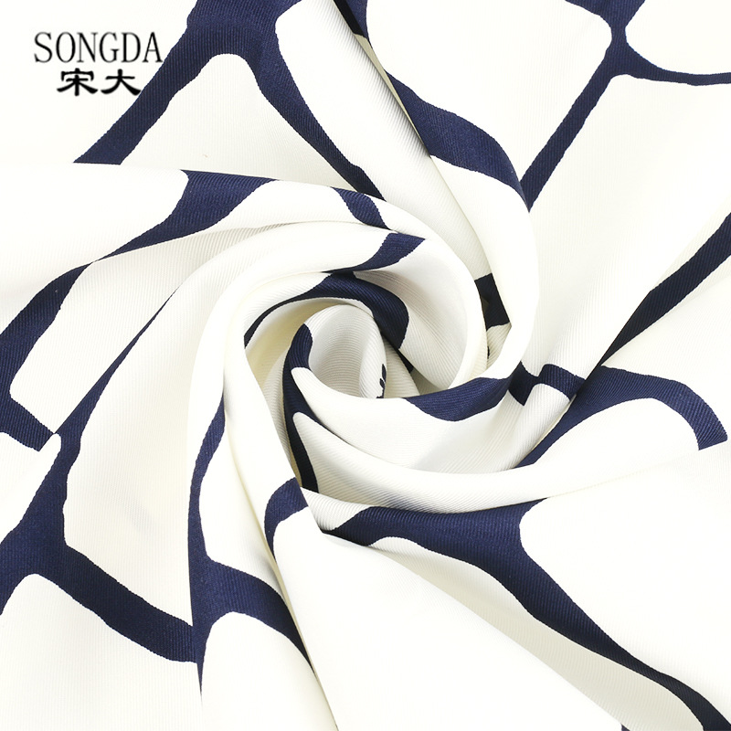 <font><b>Silk</b></font> <font><b>Scarves</b></font> Women's Spring And Summer <font><b>90X90</b></font> Bandana Korean-style Spring And Autumn bai da xiao <font><b>Scarf</b></font> Airline Stewardess 2019 Ne image